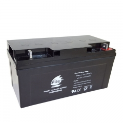 12V65AH Long Life Solar System Battery
