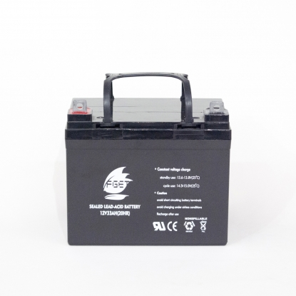 12v33ah gel battery