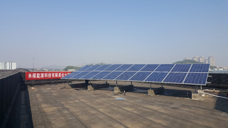 Do you know how to estimate the installed capacity of a rooftop solar photovoltaic power station?